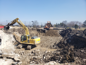Photo - Sportsman's Clubhouse Basement Demolition 3-2020